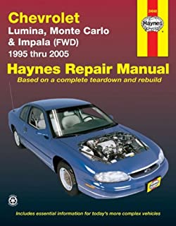 chevy monte carlo impala 06 11 monte carlo 06 07 haynes repair rh amazon com 2000 chevy impala repair manual free Chevrolet Owner's Manual