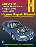 Chevrolet Lumina, Monte Carlo & Impala (FWD) 1995 thru 2005 (Haynes Repair Manual)