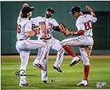 #4: Andrew Benintendi Boston Red Sox Autographed 16