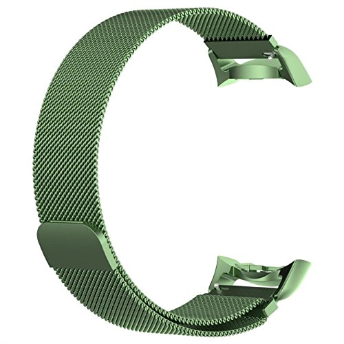 Owill Soft Magnetic Mesh Loop Milanese Stainless Steel Bracelet Strap For Samsung Gear S2, Fits 5.9