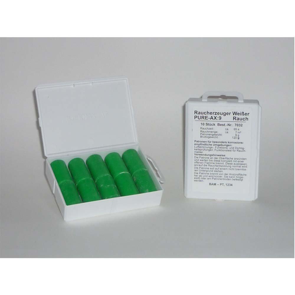 Fumo cartucce Pure AX 9/bianco 10/pezzi