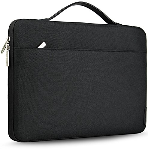 HSEOK 13-13.3 Inch Laptop Sleeve Case Briefcase, Compatible with 13-Inch MacBook Air/Pro, Surface Laptop/Book/Pro3/Pro4 and Most 14-Inch Laptop, Black