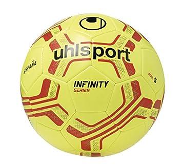 Uhlsport Nation Spain Balones de Fútbol, Unisex, Amarillo/Rojo ...