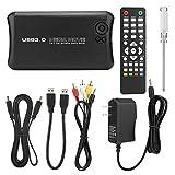 Media Player, 100-240V 2.5in SATA Full HD 1080P USB Audio Vedio Player, Supports for USB HDD Storage/MMC/SD/MS/SDHC/HDMI/AV(Black)