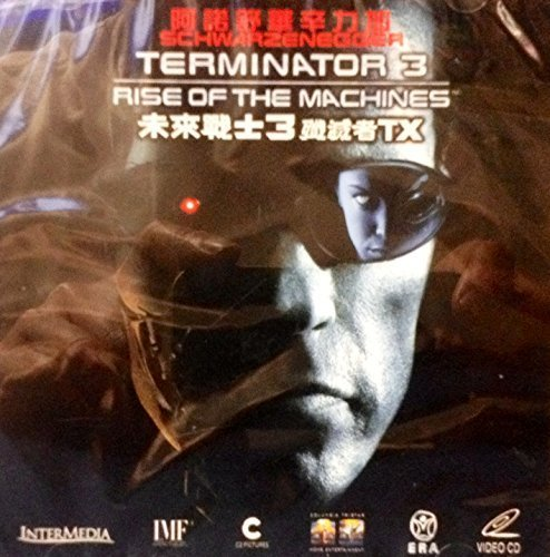 Terminator 3: Rise of the Machines (2003) By ERA Version VCD~In English w/ Chinese Subtitles ~Imported From Hong Kong~ by Nick Stahl, Kristanna Loken Arnold Schwarzenegger ()