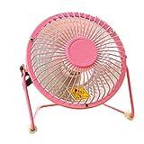 StrikeKing Mini Heater Household Small Size Heater Warm Electric Desktop Fan Heated Warmer For Winter Bedroom Office (Pink)