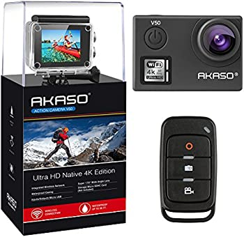 Akaso V50 Native 4K/30fps 20MP WiFi Action Camera with EIS