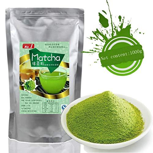 1000g (2.2LB) Polvo de té verde Matcha 100% natural Té verde orgánico Té matcha Té crudo sheng cha comida sana Comida verde: Amazon.es: Alimentación y ...
