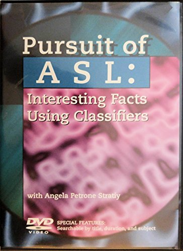 Pursuit Of Asl: Interesting Facts Using Classifiers (Dvd)