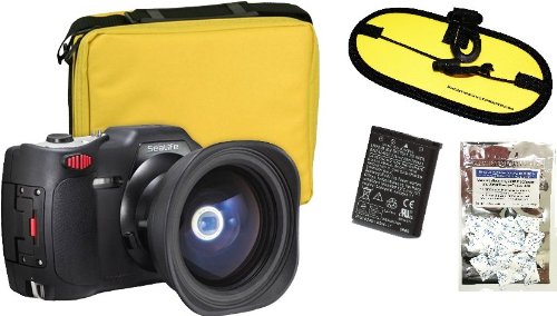 SeaLife DC1400 Reefmaster Underwater Camera w/ FREE spare battery, float strap, and moisture absorbers