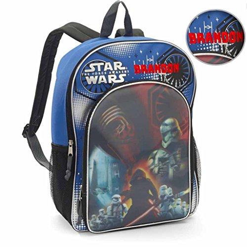 Personalized Licensed Disney Character Backpack - 16 Inch (Disney's Star Wars) ()