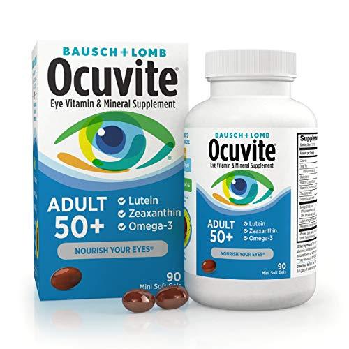 Bausch + Lomb Ocuvite Adult 50+ Vitamin & Mineral