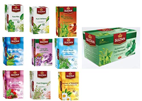 Sultan Moroccan Tea Bags Collection