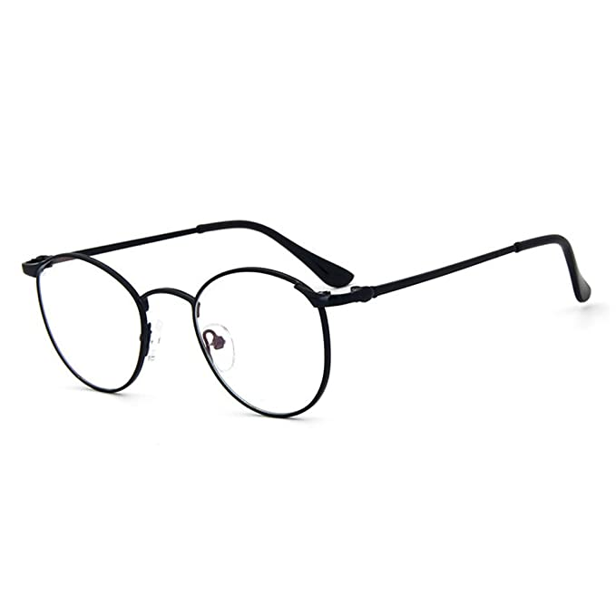 Amazon.com: D. King redondo de metal clásico Frames Clear ...