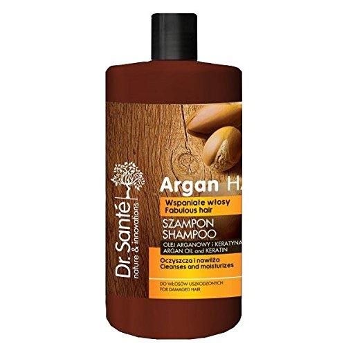 Dr.Sante Natural Shampoo with Argan and Keratin for Damaged Hair 1000ml