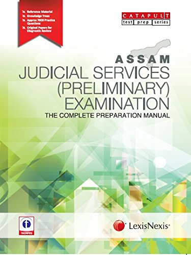 Assam Judicial Services (Preliminary) Examination–The Complete Preparation Manual Paperback – 2014
