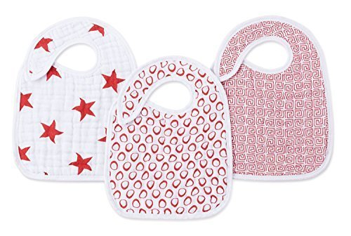 Aden + Anais Burpy Bibs - (RED) Special Edition