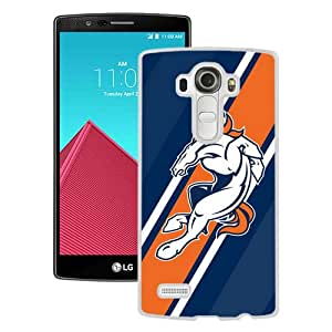 Newest And Fashionable LG G4 Case Designed With Denver Broncos 10 White LG G4 Screen Cover High Quality Cover Case