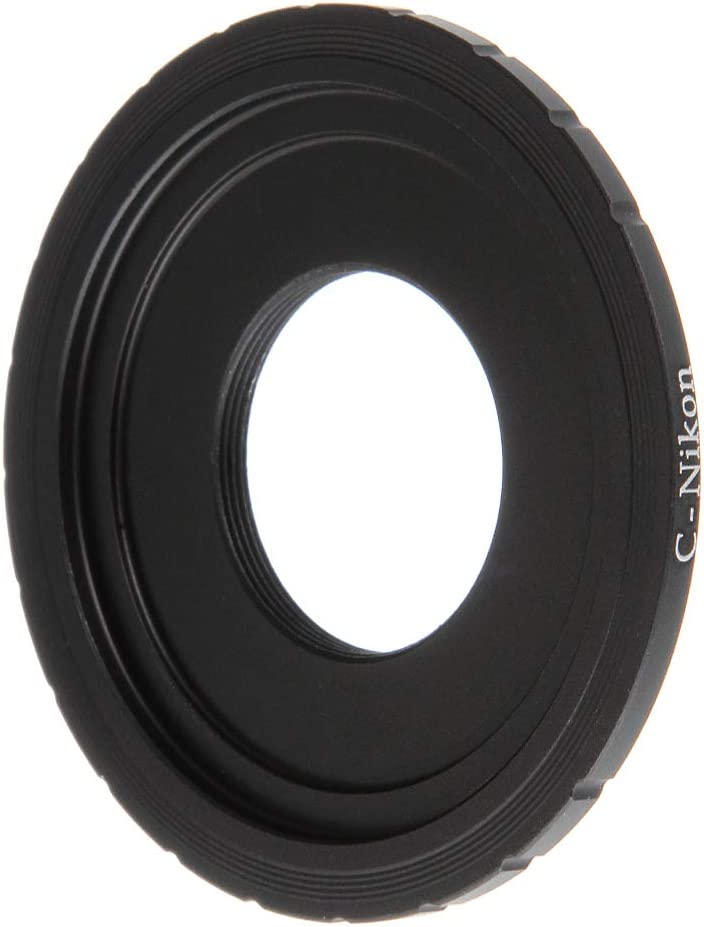 FocusFoto C Mount CCTV//Cine Movie Lens to Nikon F AI D5600 D750 D850 D7500 D7200 Camera Adapter Ring