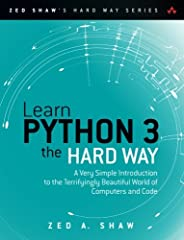 You Will Learn Python 3!    Zed Shaw has perfected the world's best system for learning Python 3. Follow it and you will succeed—just like the millions of beginners Zed has taught to date! You bring the discipline, commitment, and persisten...