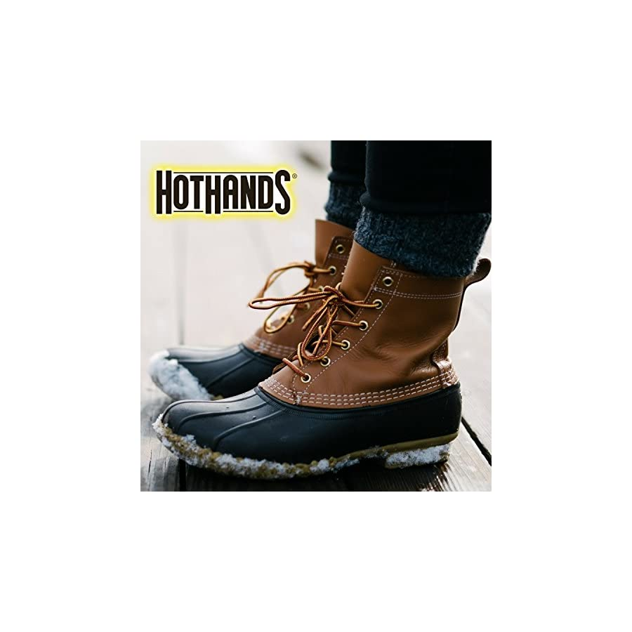 HotHands Insole Foot Warmers Long Lasting Safe Natural Odorless Air Activated Warmers Up to 9 Hours of Heat 16 Pair
