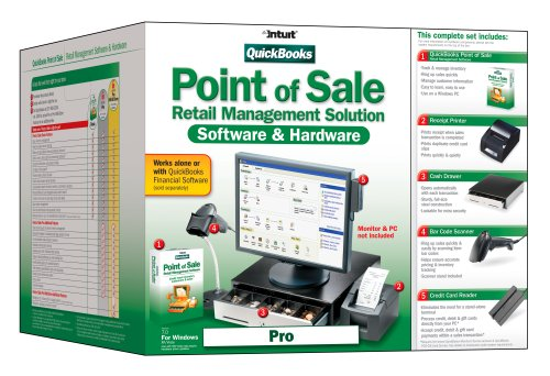 QuickBooks Point of Sale: Pro V7.0 w/Hardware [OLD VERSION]