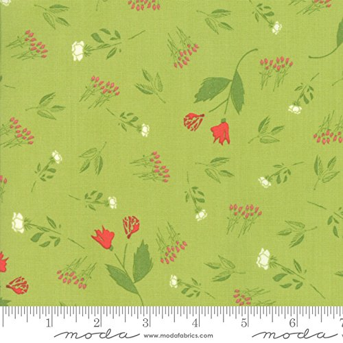 United Notions & Moda Fabrics Moda The Front Porch Quilt Fabric Rose Bed Style 37541/14 ()