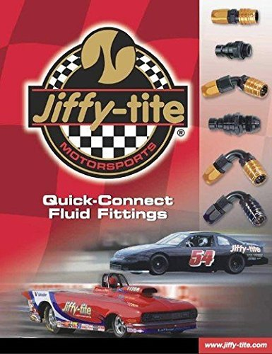 Jiffy-tite 200T3J Black 1/8' NPT Transmission Line Fitting Kit