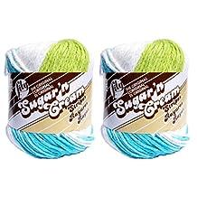 Sugar'N Cream Yarn - Stripes Super Size-Mod Stripes