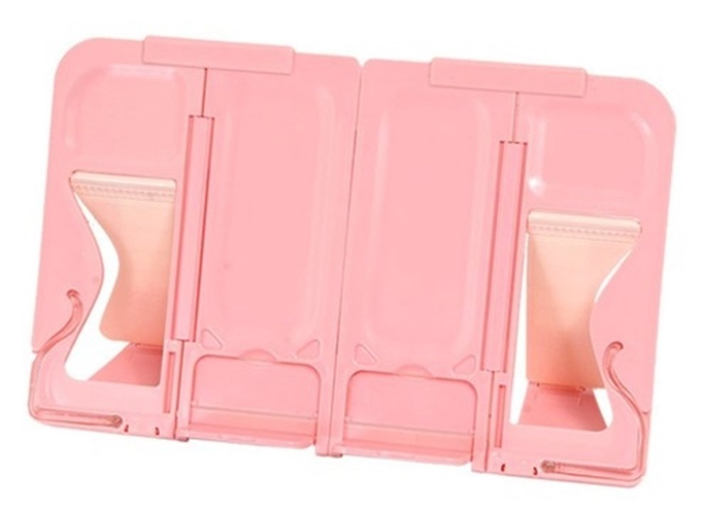 Sonane Portable Folder Type Multi Book Stand (Pink) [Made in Korea]