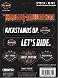 (US) Harley-Davidson Multiple Sayings with Bar & Shield Decal