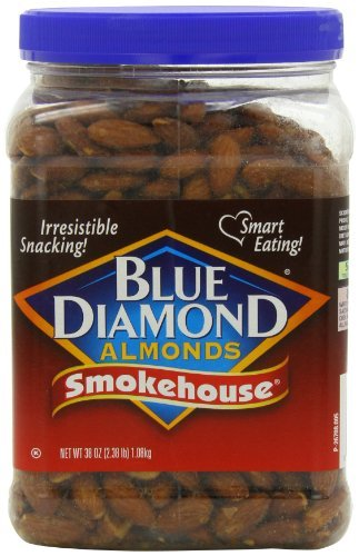 Blue Diamond Almonds Smokehouse Almonds, 38 oz