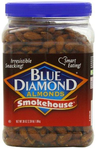 Blue Diamond Almonds Smokehouse Almonds 38 Oz Import It All