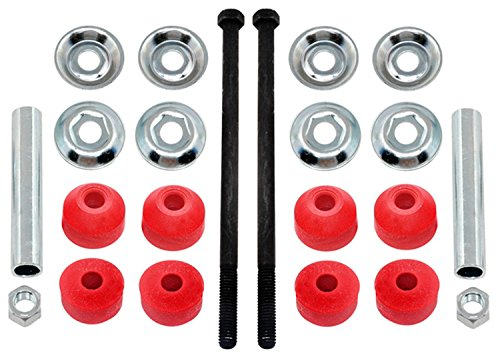ACDelco 46G0001A Advantage Front Suspension Stabilizer Bar Link Kit with Hardware ()