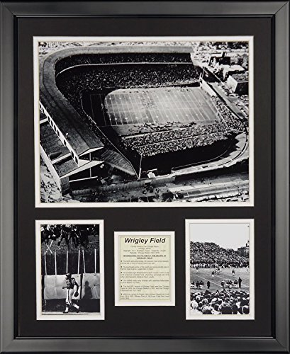 (Legends Never Die Chicago Bears Wrigley Field Framed Photo Collage, 16