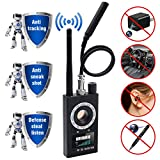 sherry Anti Spy Detector & Camera Finder RF Signal Detector GPS Bug Detector Hidden Camera Detector for GSM Tracking Device GPS Radar Radio Frequency Detector: more info