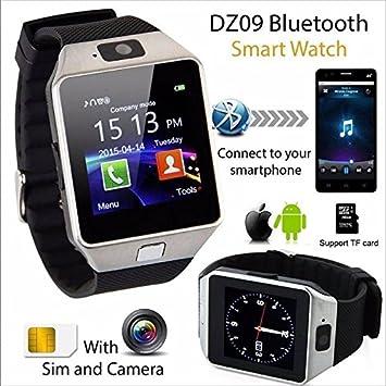 Reloj Inteligente SmartWatch GSM SIM Bluetooth Camara FR Movil iOS Android Watch