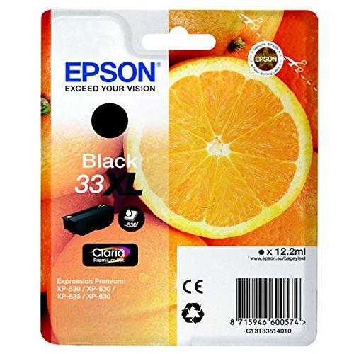 C13T33514010 Expression Premium XP-630 Cartucho de Tinta negro ...