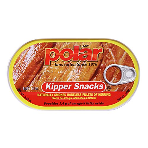 (MW Polar Herring, Kipper Snacks, 3.53-Ounce)