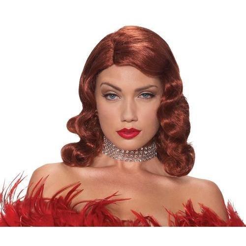 WIG FEMME FATALE RED -