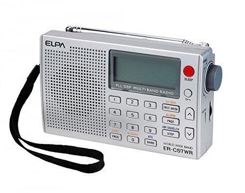ELPA World Band Receiver Portable Radio FM AM AIR ER-C57WR from Japan