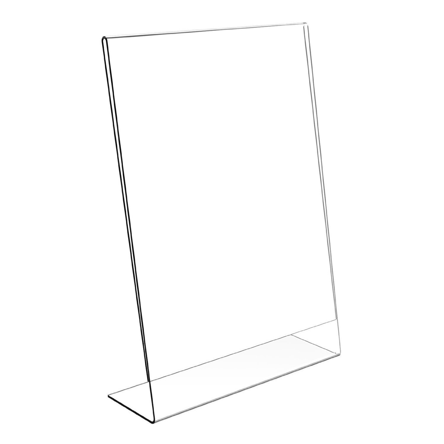 Displaypro A4 Clear Acrylic Portrait Counter Poster Holder Display Stand