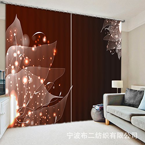 Sproud 3D Blackout Window Curtains For Bedding Room Living Room Hotel Drapes Cortinas-240Cmx300Cm