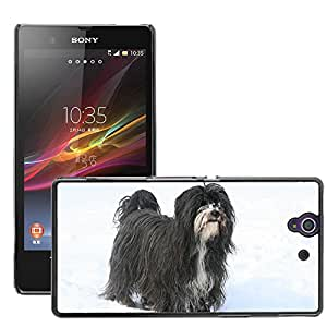 Hot Style Cell Phone PC Hard Case Cover // M00116110 Tibetan Terrier Dog Canine Animal // Sony Xperia Z L36H C6603