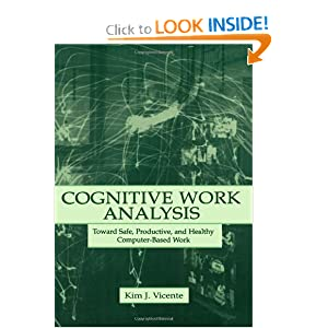 Cognitive Work Analysis : Toward Safe, Productive, and Healthy Computer-Based Work Kim J. Vicente