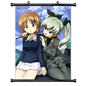 GIRLS und PANZER Anime Fabric Wall Scroll Poster (16 x 23) Inches. [WP]-GIRLS-23