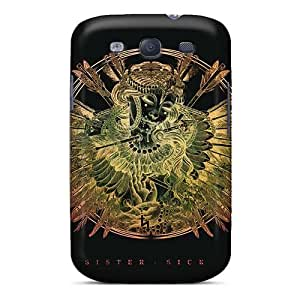 Protective Hard Phone Cover For Samsung Galaxy S3 With Support Your Personal Customized Stylish Papa Roach Series MarieFrancePitre