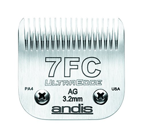 Andis-Carbon-Infused-Steel-UltraEdge-Dog-Clipper-Blade-Size-7FC-18-Inch-Cut-Length-64121