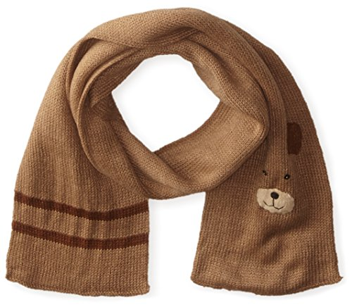 Kidorable Soft Acrylic Knit Scarf, Bear (Brown), One Size Fits Most, for Toddlers, Little Kids, Big Kids