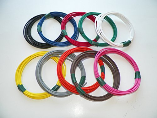 Automotive Copper Wire, GXL, 14 GA, AWG, GAUGE Truck, Motorcycle, RV, General Purpose. Order by 3pm EST Shipped Same Day (10 Colors 10